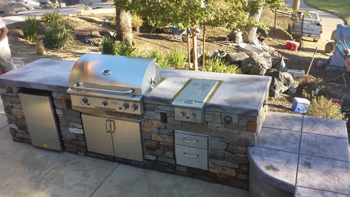 Sacramento Summer BBQ - Outdoor Kitchen
